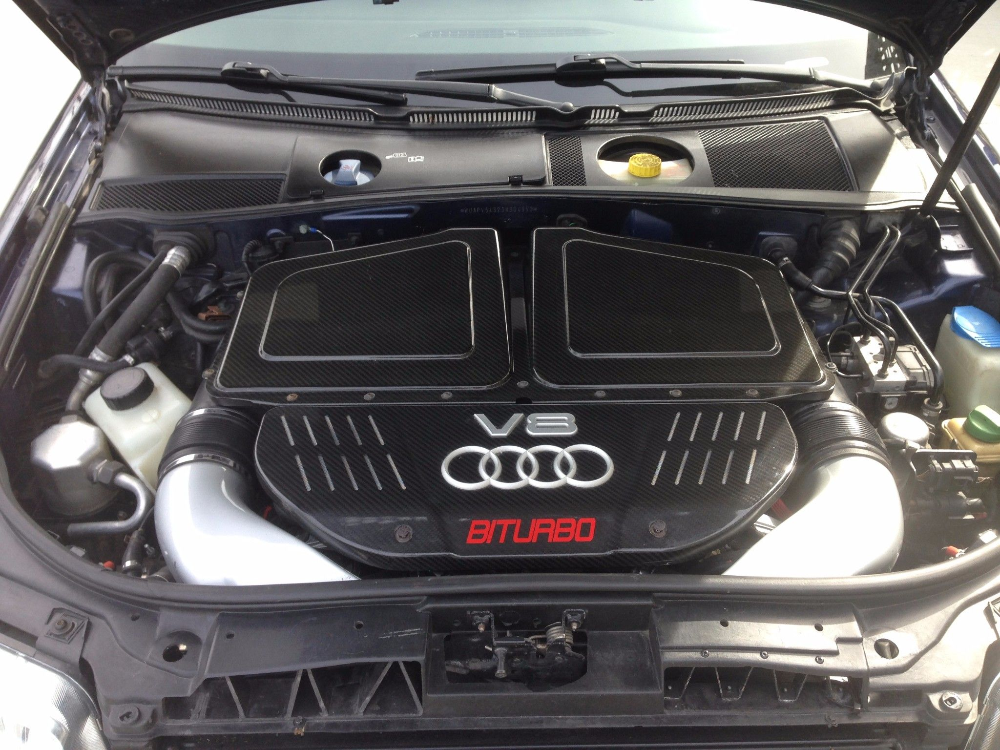 you must buy this six speed manual swapped audi rs6 rh roadandtrack com 2003 Audi RS6 Slammed Audi 2003 RS6 Problems