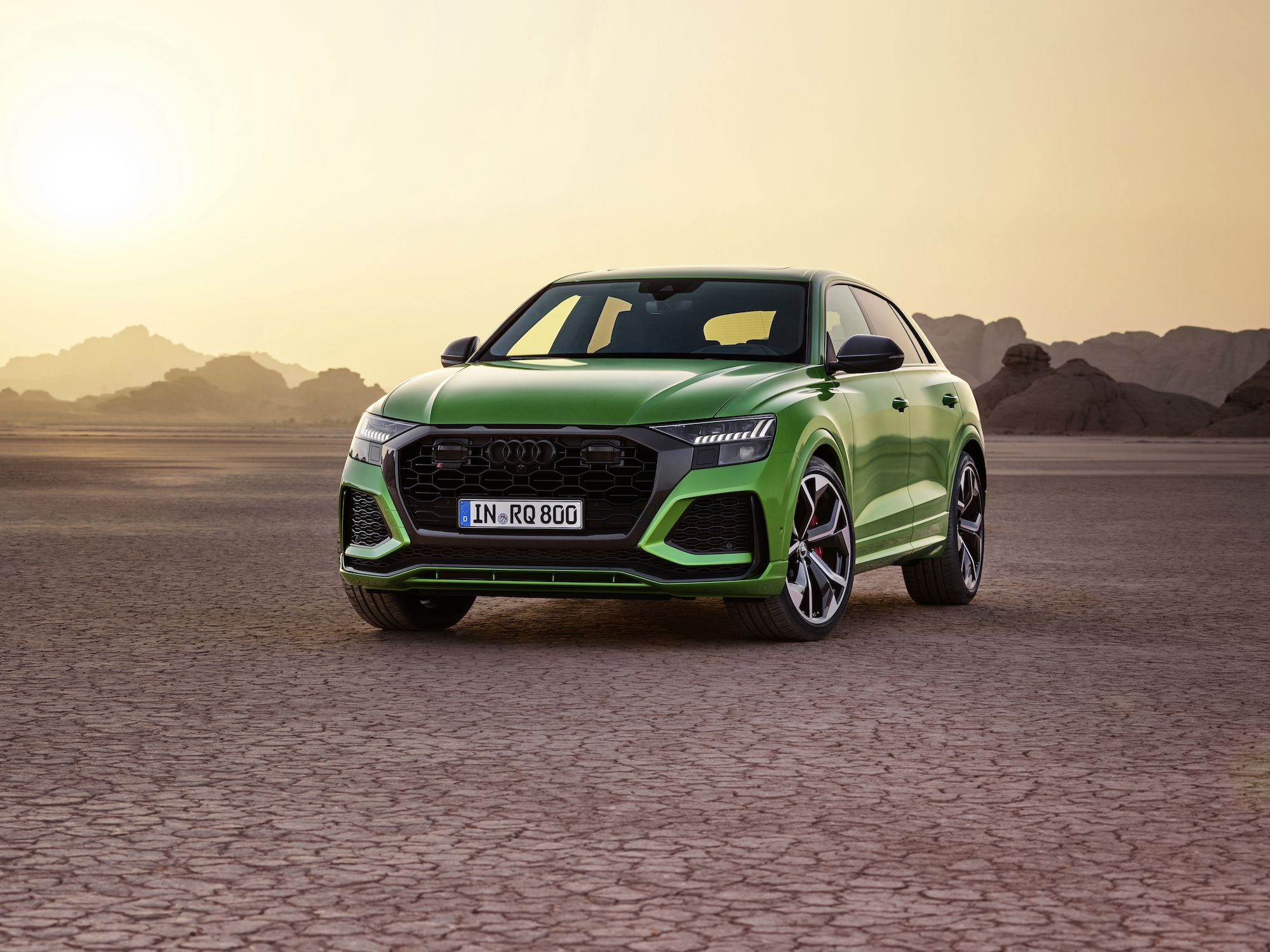 The 2020 Audi RS Q8 Packs 600 HP and a 0-62 Time Under Four Seconds