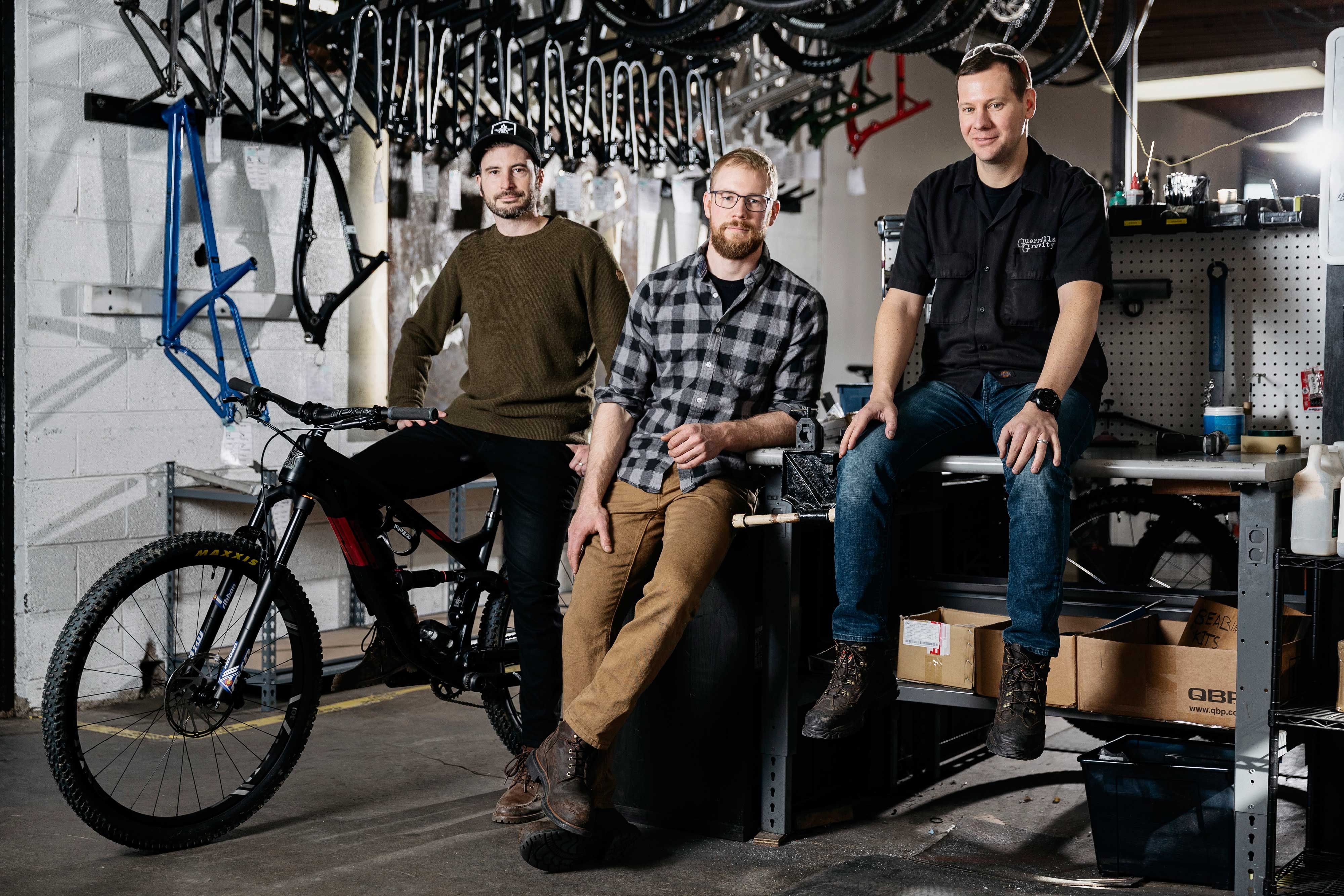 How Guerrilla Gravity Manufactures a Made-In-the-USA Carbon Frame for Less Than Big Bike Brands