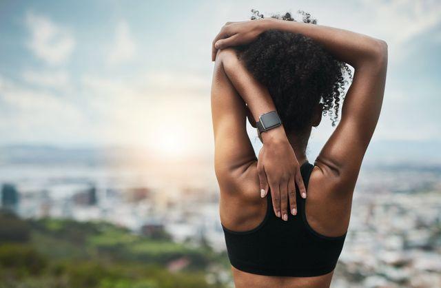 back shoulder stretch exercise