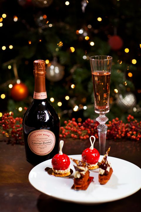 Laurent Perrier champagne at Christmas