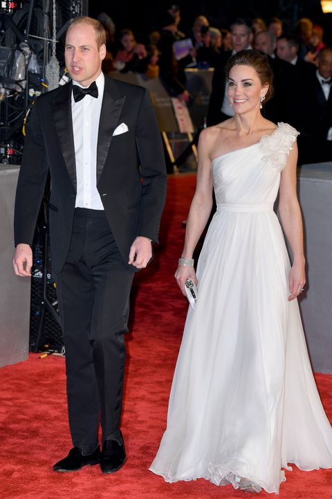 William and Kate at the BAFTAS 2019