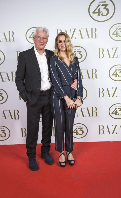 Richard Gere con su novia