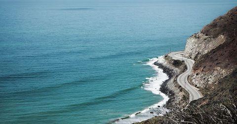 malibu coastline pch