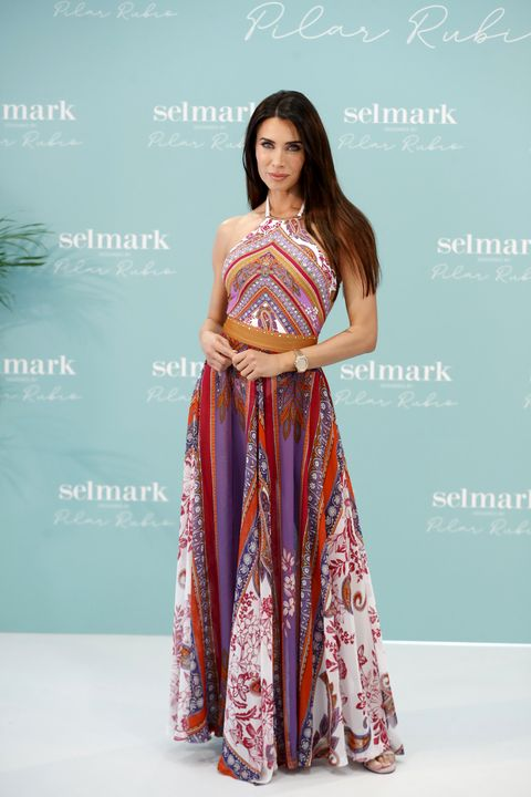 pilar rubio during the presentation of her capsula collection for selmark in madrid on wednesday 12 may 2021