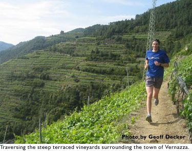 On the Road ... Running in the Cinque Terre region of Italy   Runner's World