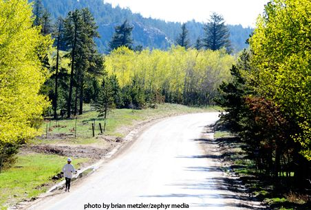 Colorado's Magnolia Road Attracts All Levels of Runners