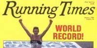 1984 Running Times cover featuring Steve Jones