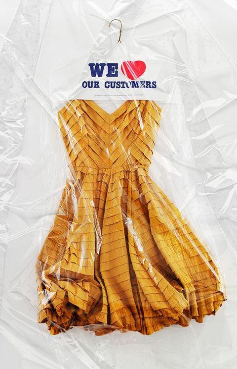 Clothing, Yellow, Dress, Food,