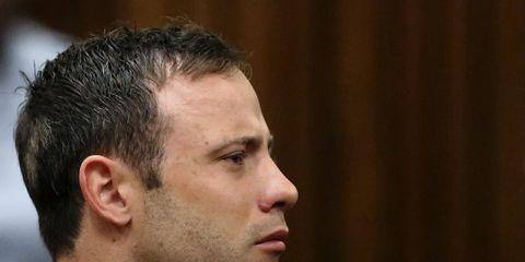 Oscar Pistorius listens to verdict
