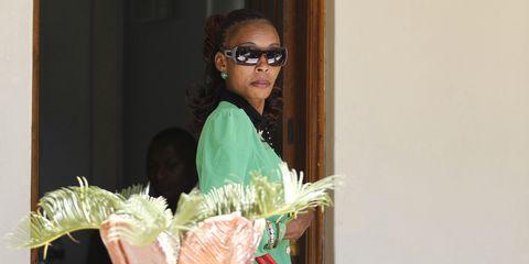 Rita Jeptoo arrives for drug hearing