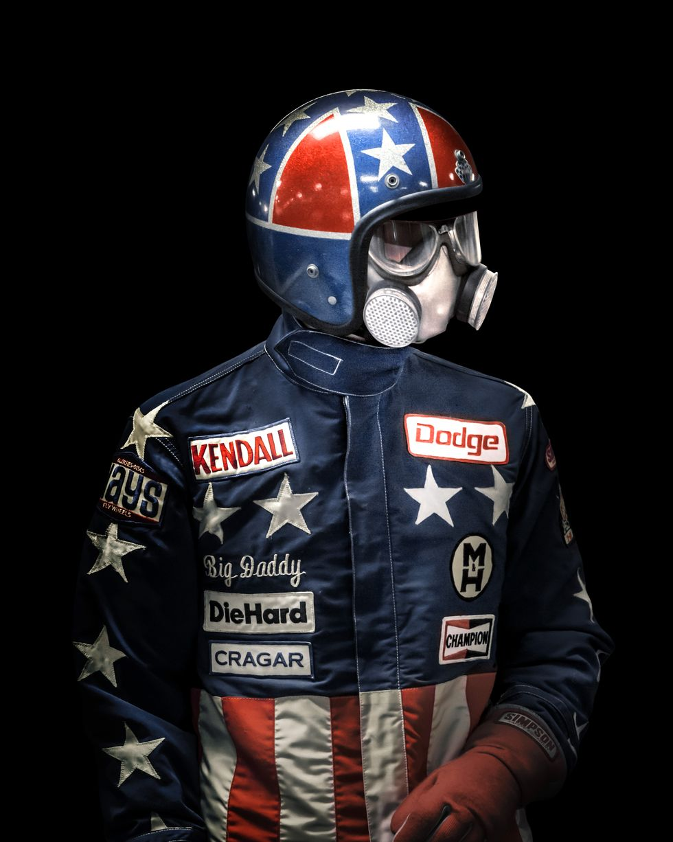 The Terrifying Beauty of Early Drag Racing Fire Suits