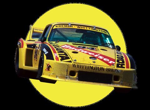 гоночные ливреи гоночных автомобилей, финансируемых за счет наркотиков, Дон и Билл Уиттингтон