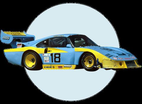 гоночные ливреи гоночных автомобилей, финансируемых за счет наркотиков, Джон Пол старший
