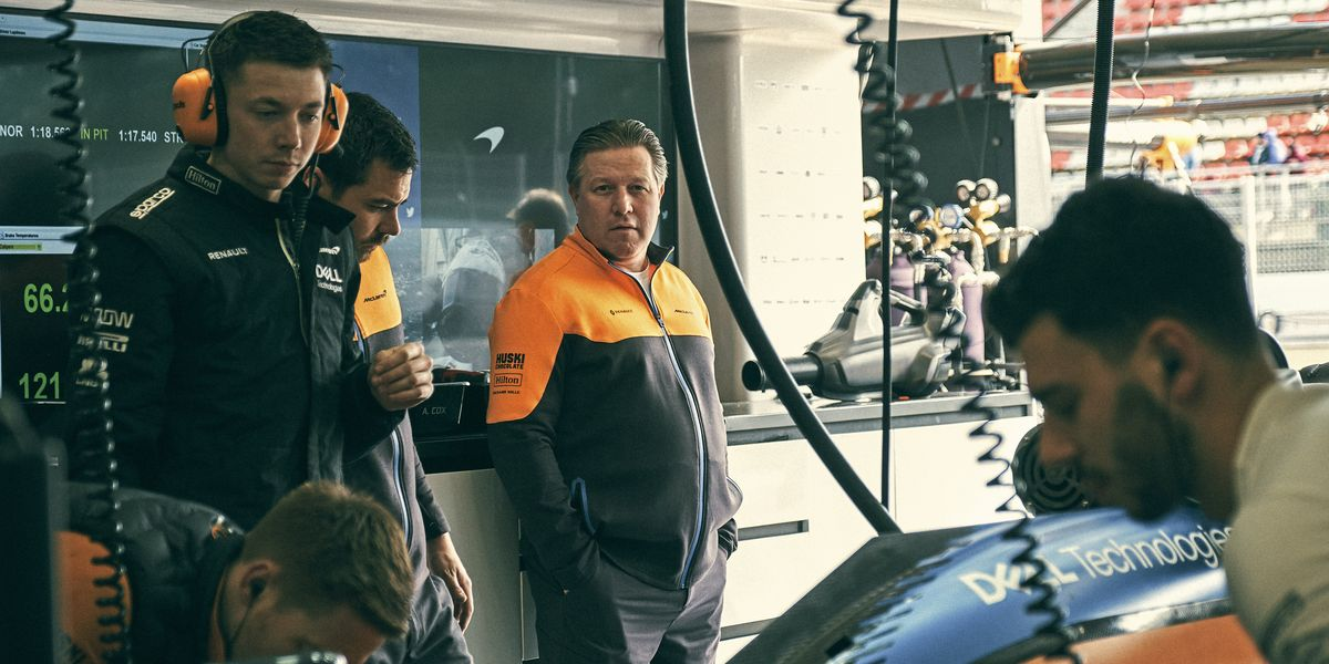 Zak Brown's Impossible Task: Saving McLaren Racing - RoadandTrack.com