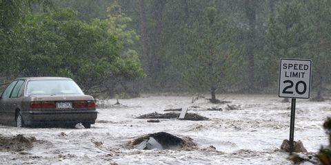 Flooding in Boulder, Colorado