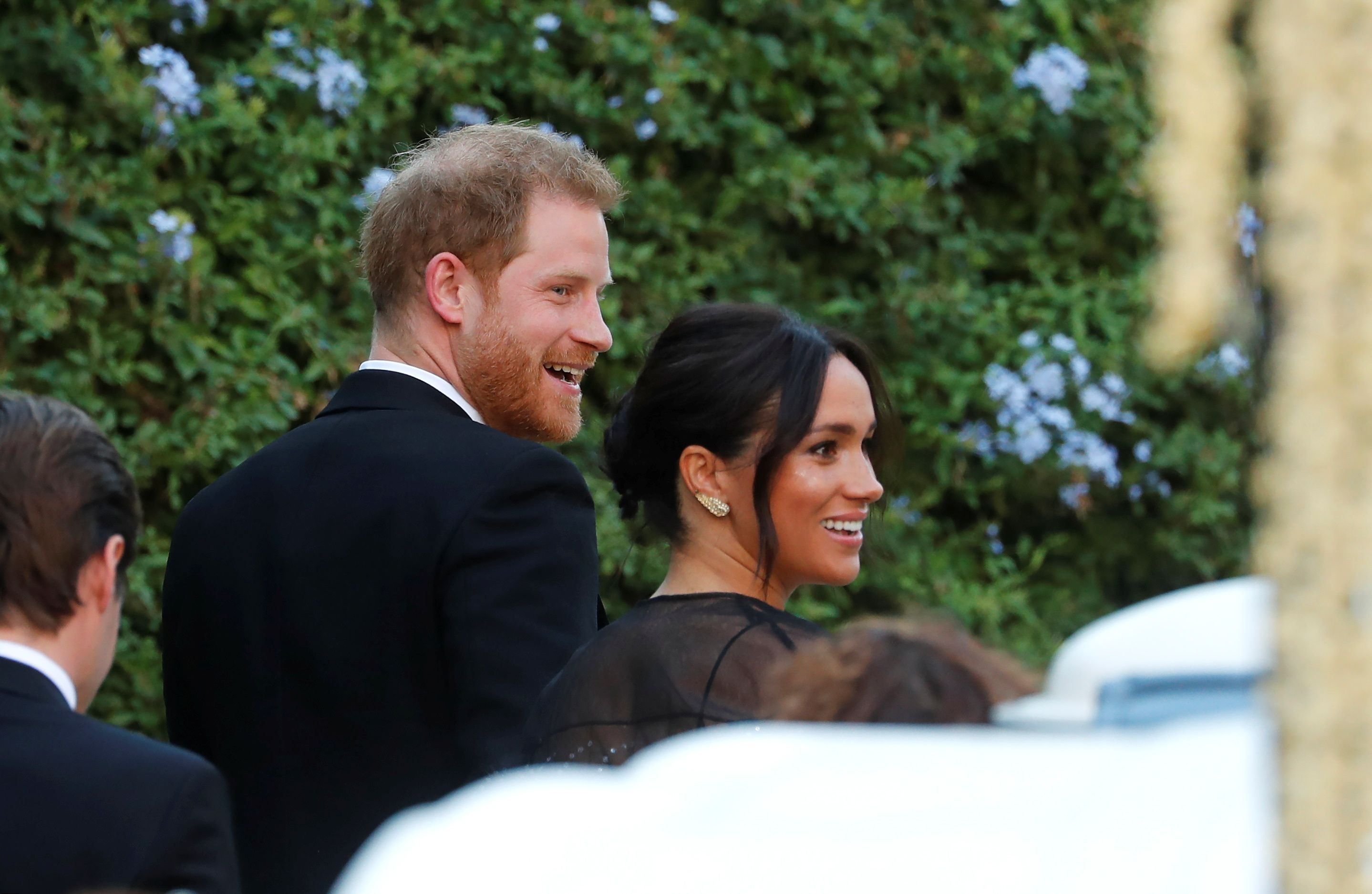 Meghan Markle and Prince Harry Have ARRIVED at Misha Nonoo's Wedding and They Look Gorgeous
