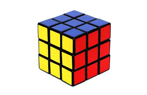 Rubik's cube, Toy, Mechanical puzzle, Square, Puzzle, Educational toy,