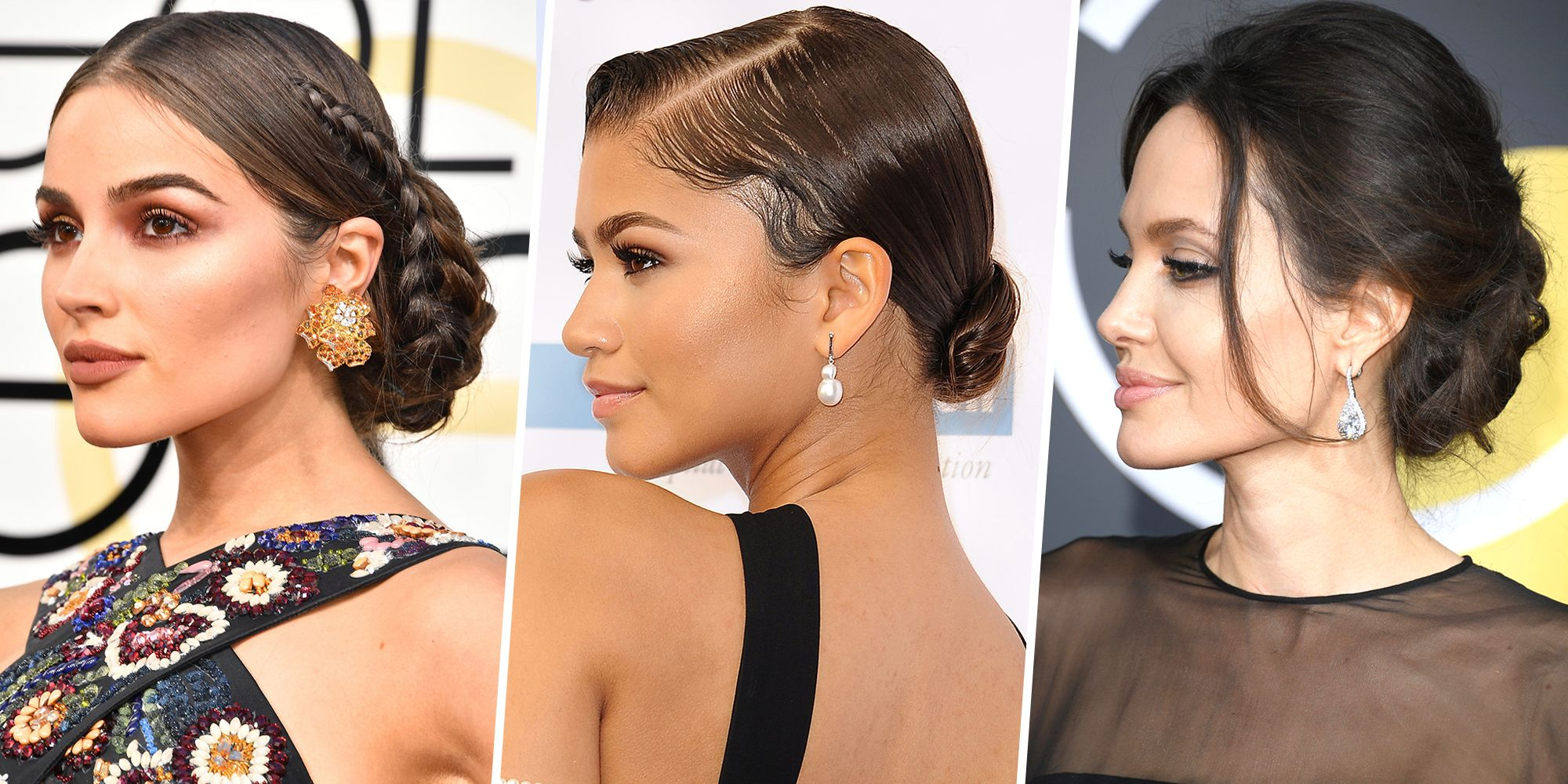 18 Chignon Bun Hairstyles Red Carpet Chignon Styles