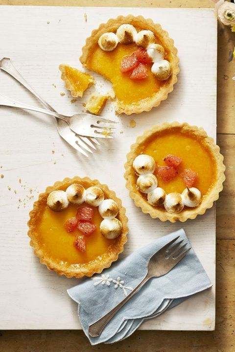 Christmas Desserts - Ruby Red Grapefruit Tartlets