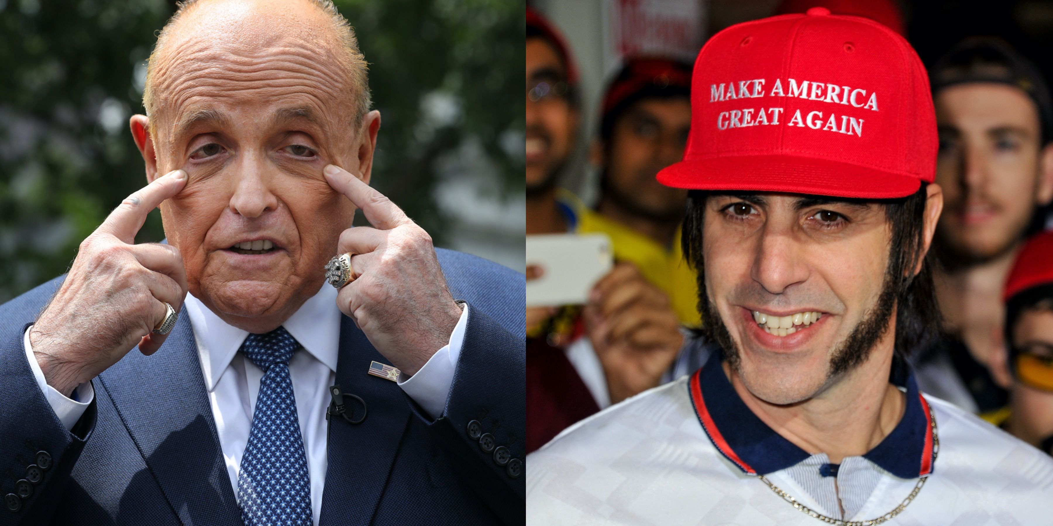 Rudy Giuliani Got Pranked By Sacha Baron Cohen—Then Called the Cops