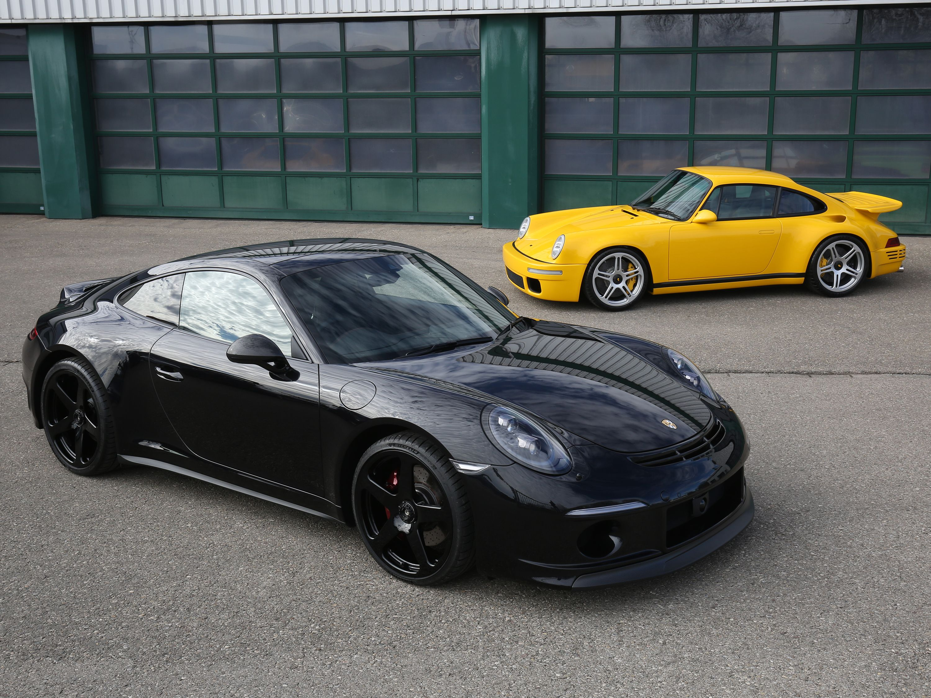 The RUF GT Takes the last 911 Carrera S Up to 515 Horsepower