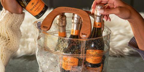 Alcohol, Liqueur, Distilled beverage, Drink, Bottle, Glass bottle, Whisky, Bucket, Barware,