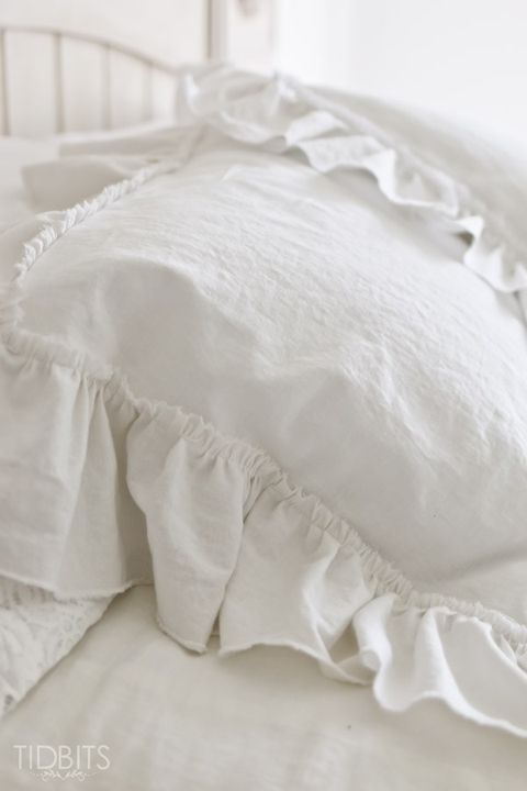 ruffle pillow shams for bedroom