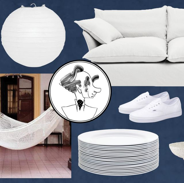 best white accessories for home