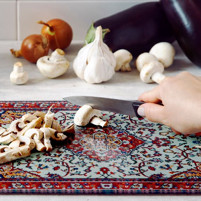 This Persian-Carpet Cutting Board Will Make Your Kitchen Feel Fancy