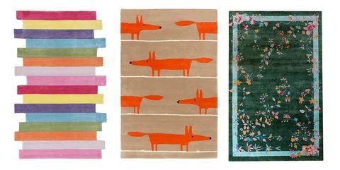 Orange, Art, Pattern, Design, Textile, Rectangle, Painting, Visual arts, Paper, Modern art,