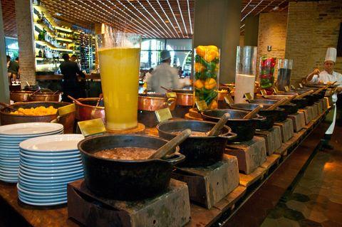 Feijoada del restaurante brasileño Rubaiyat (Madrid)