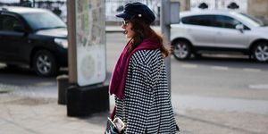 treet Style at Mercedes-Benz Fashion Week Russia - Day 2