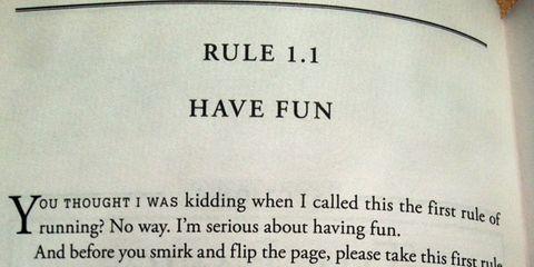 Rule 1.1 Have Fun