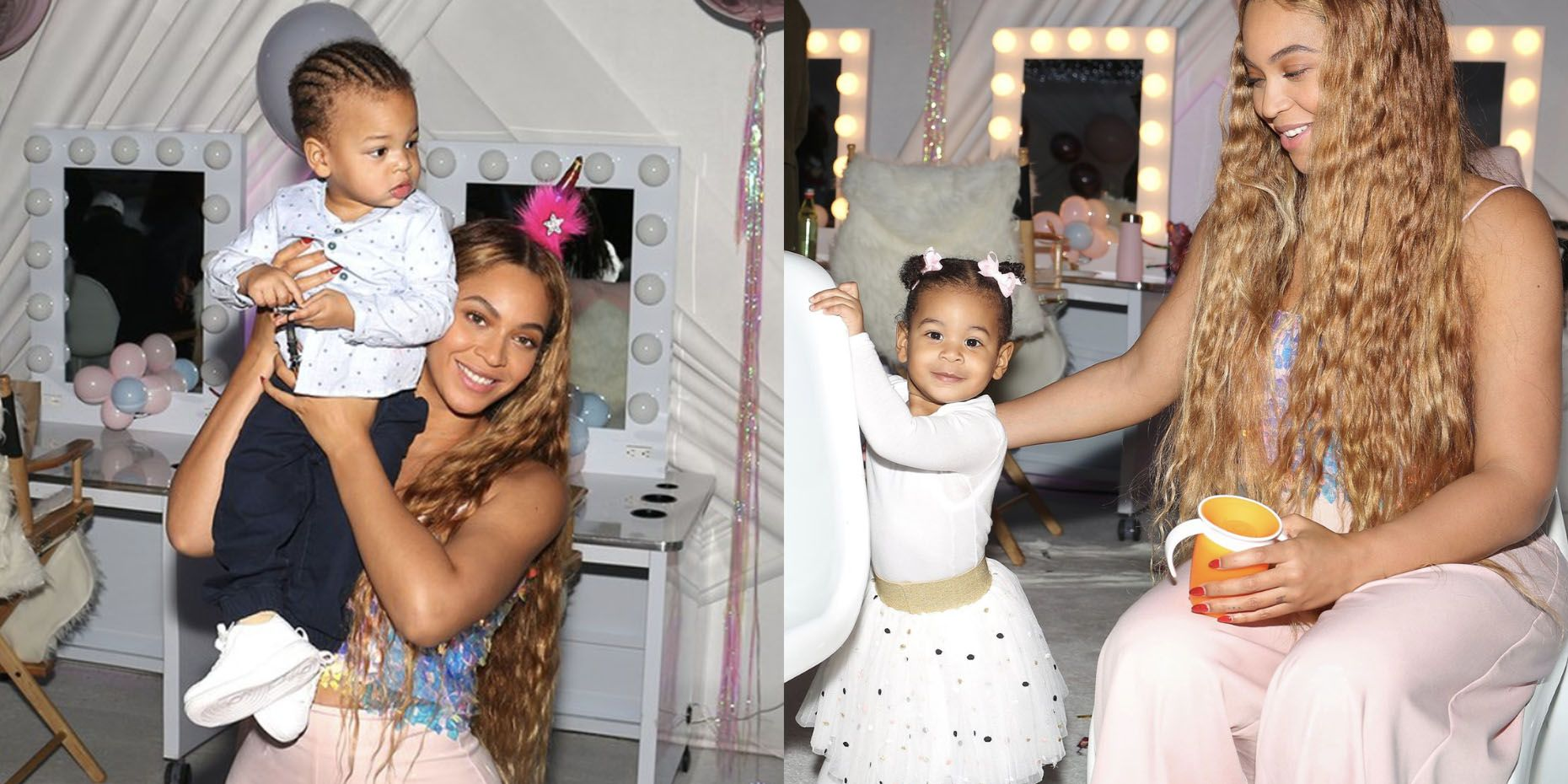 Beyoncé Shares New Photos of Twins Rumi and Sir for Birthday