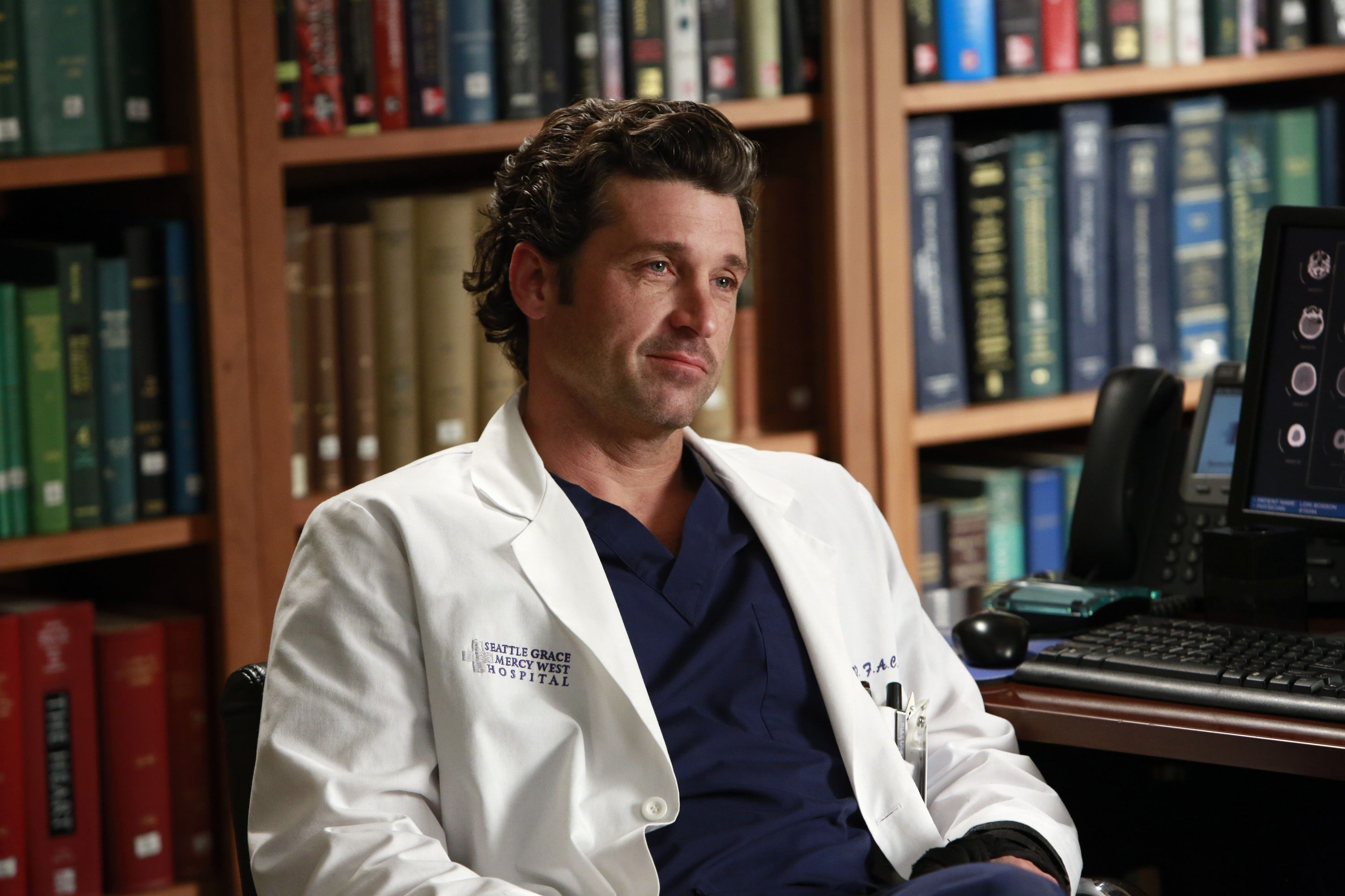Why Did Patrick Dempsey Leave Greys Anatomy The Reason Why