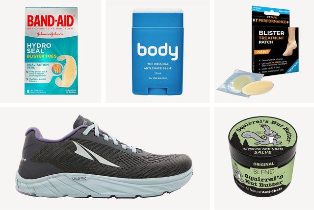 runner blisters