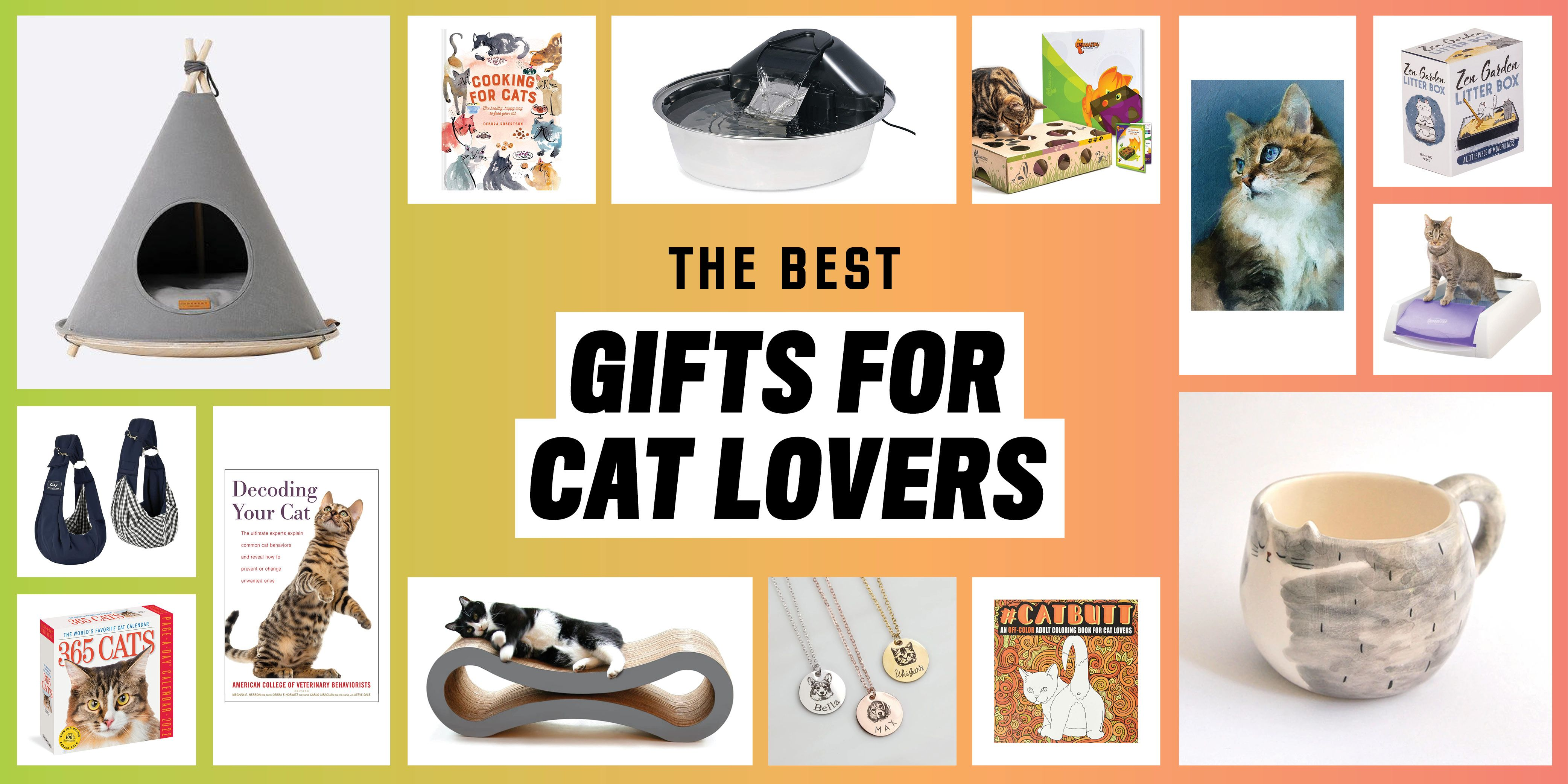 The 20 Best Gifts for Cat Lovers and Their Feline Friends
