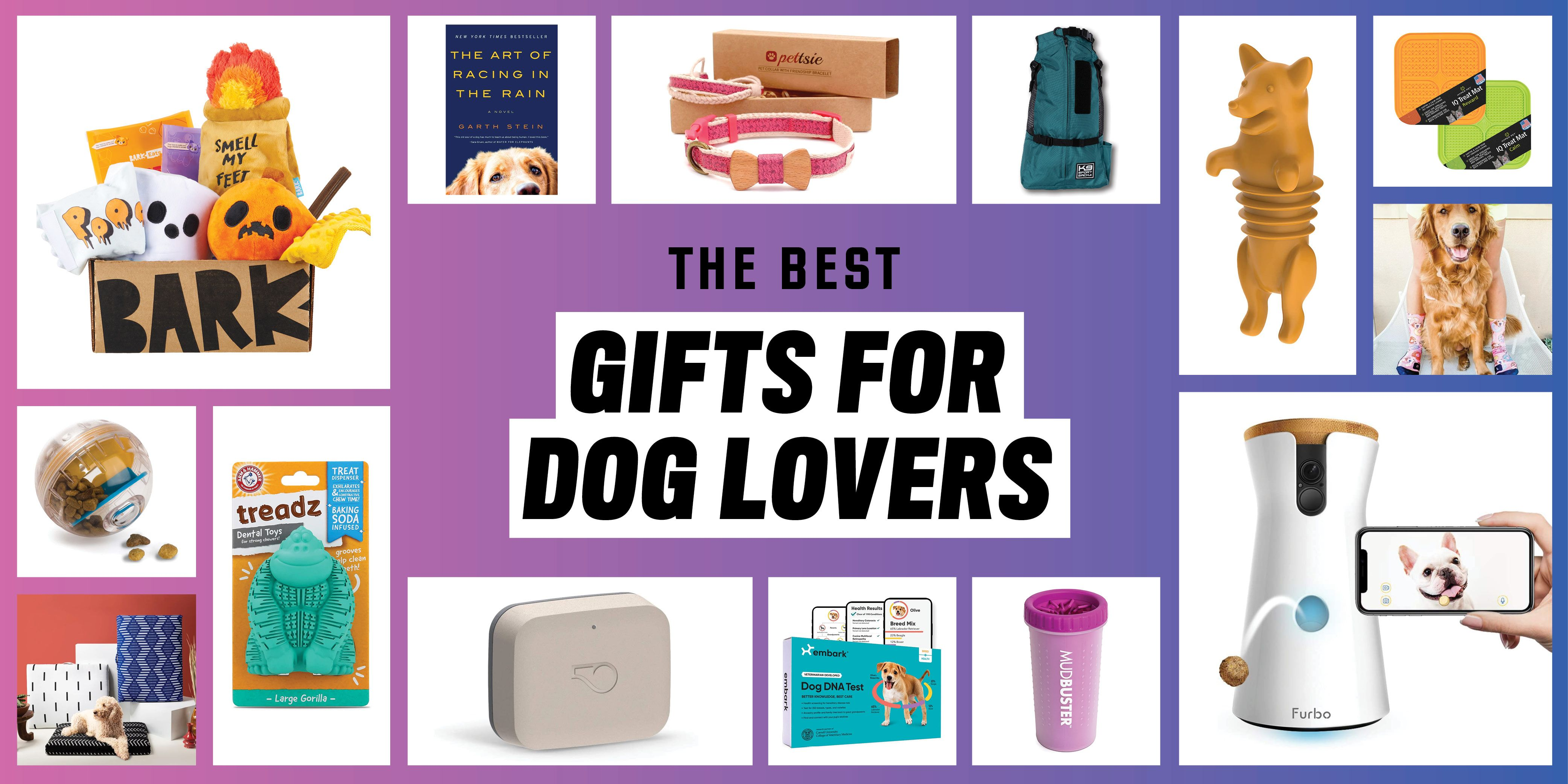 The 20 Best Gifts for Dog Lovers