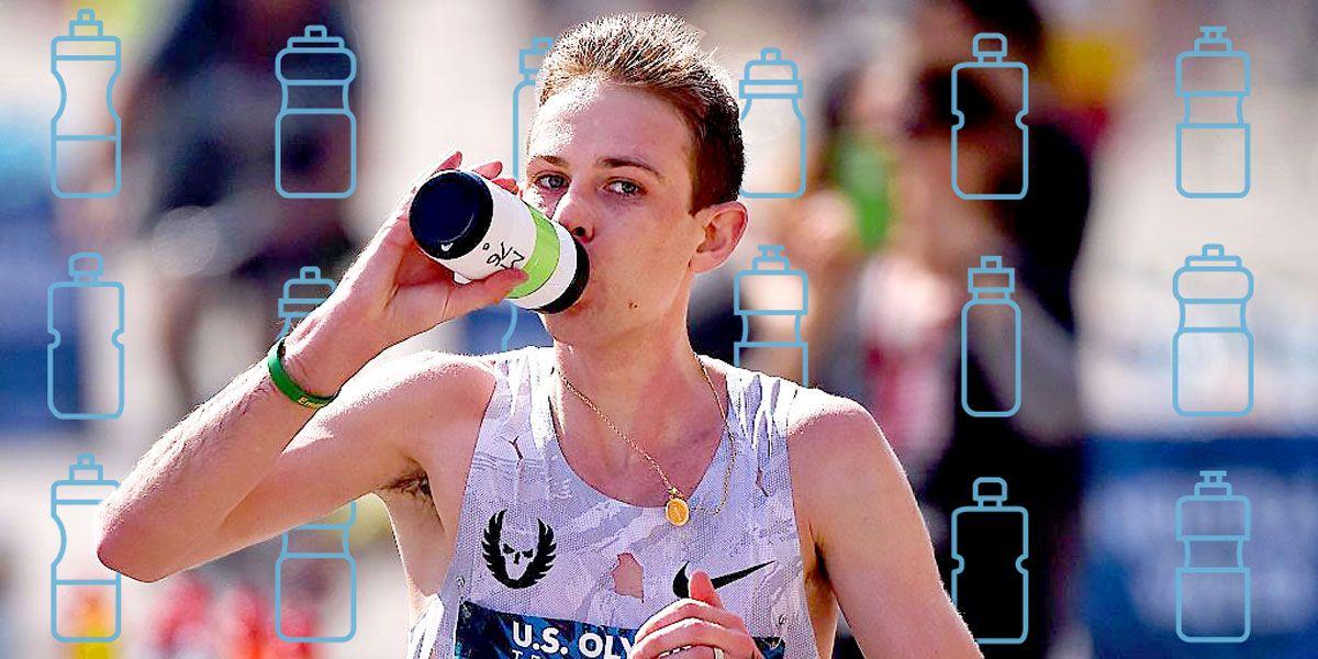 Getting Runners Their Bottles in Atlanta