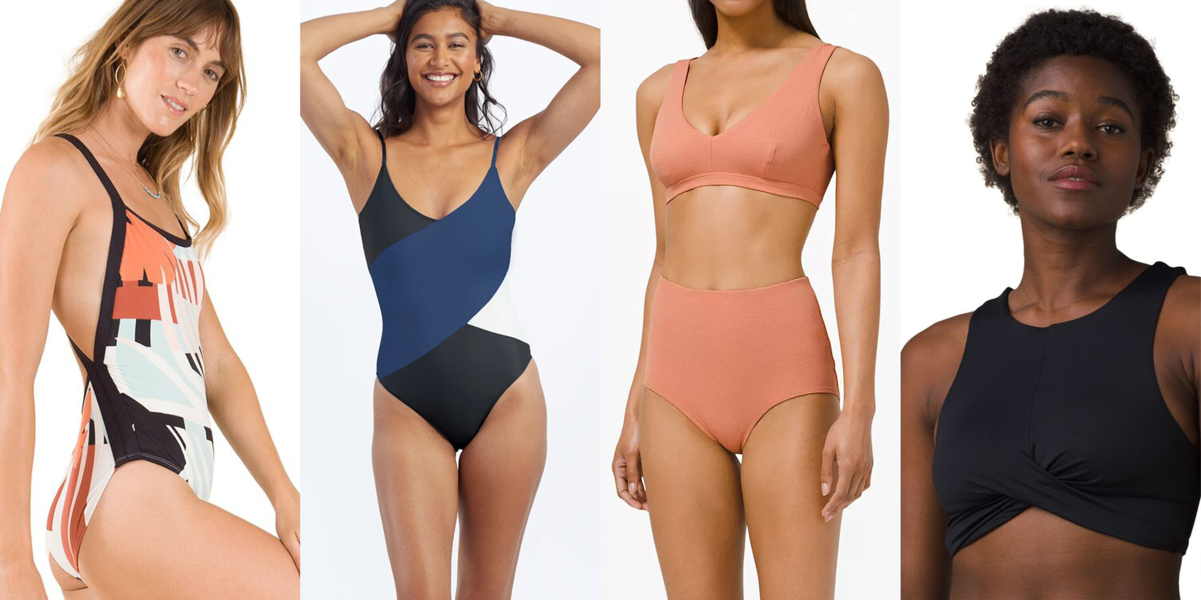 30 Sporty Swimsuits That Are Made for Being Active