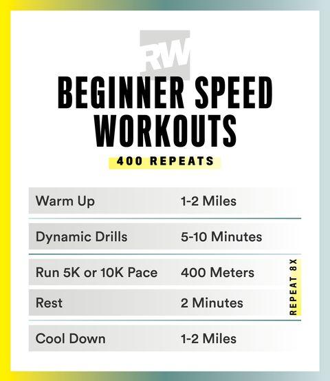 Sprint exercise routine