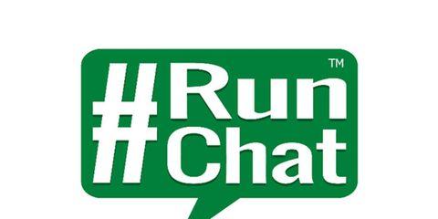 @TheRunChat Twitter Chat #RunChat Logo