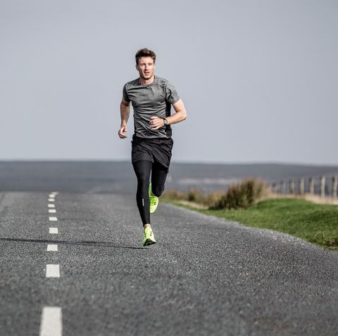 Running, Jogging, Recreation, Outdoor recreation, Atmospheric phenomenon, Long-distance running, Individual sports, Exercise, Road, Athlete,