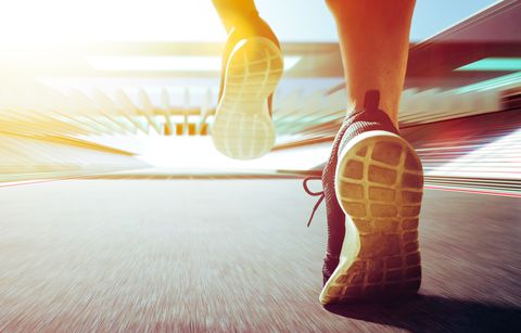 ​Your Ankles Can Keep You From Slowing at the End of Runs