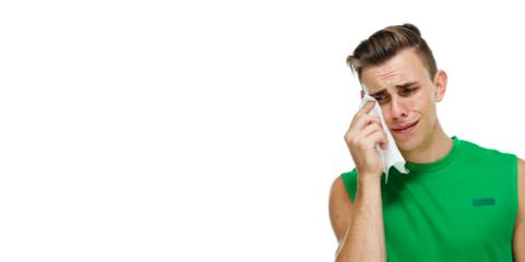 Runner Guy Crying