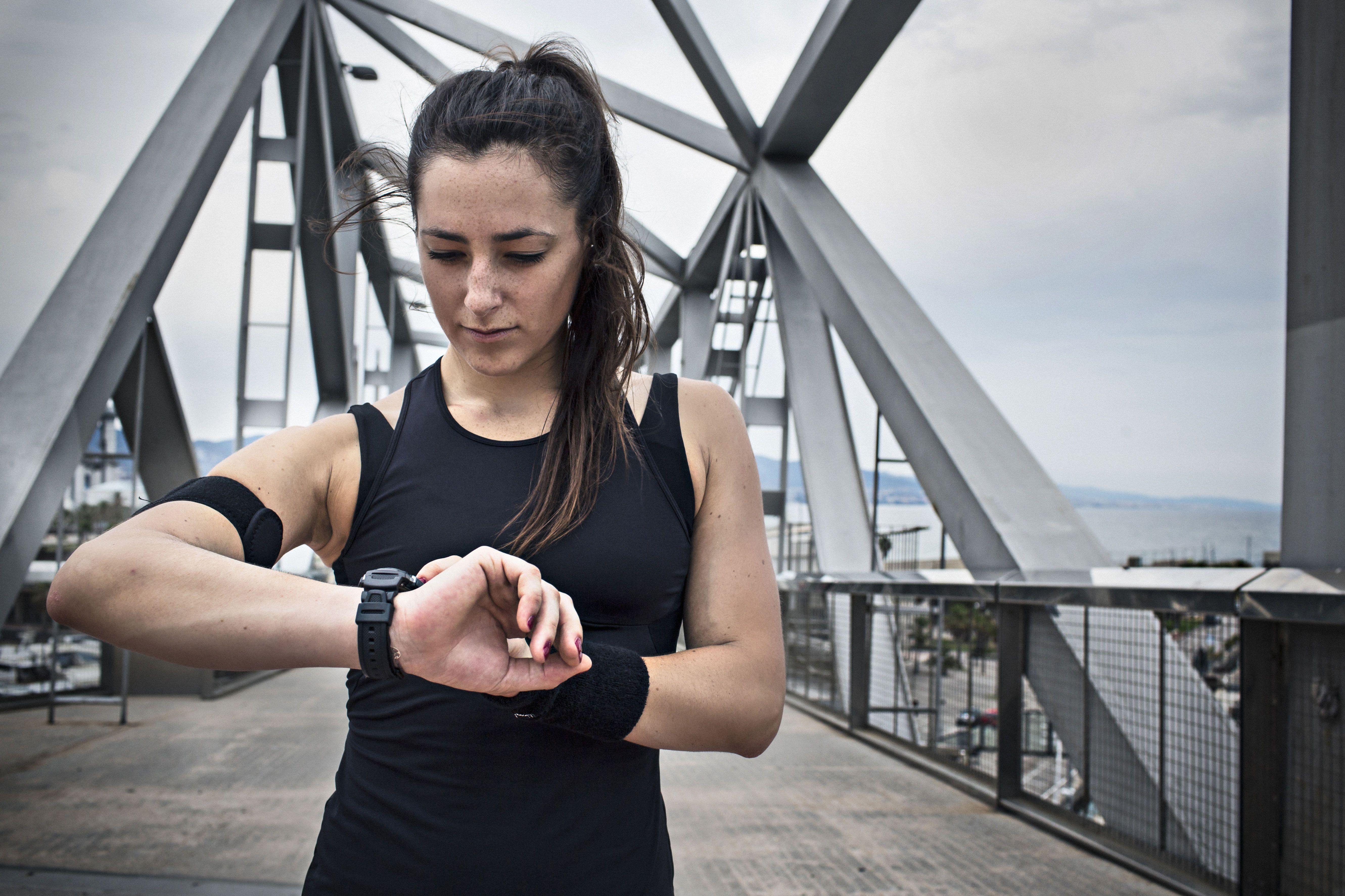 runner heart rate