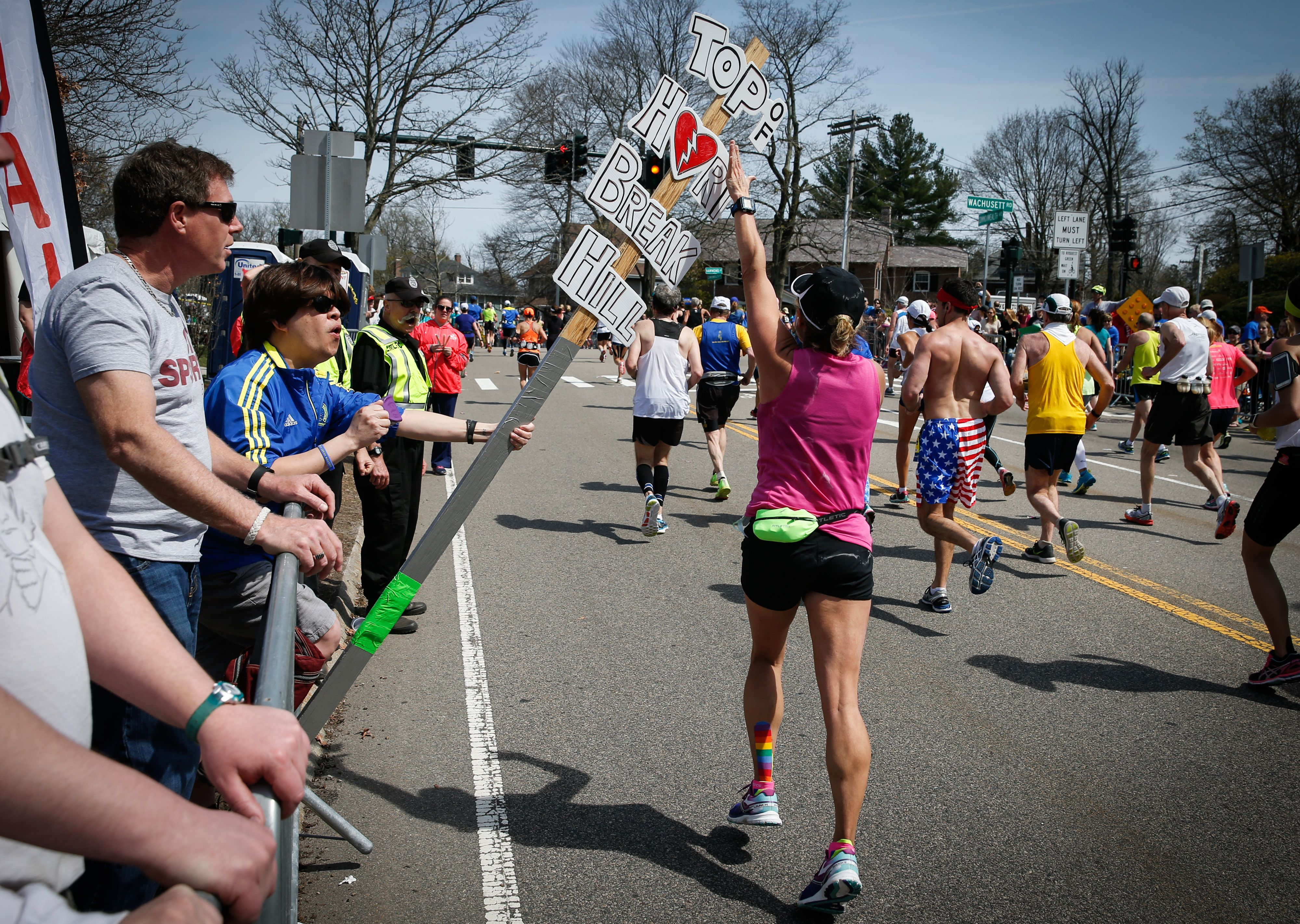 Boston Marathon Course Elevation Map.How Hard Is Heartbreak Hill In The Boston Marathon 2019 Boston