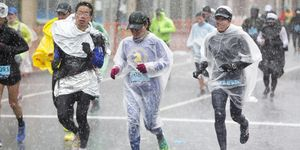 Runners Compete In The 2018 Boston Marathon