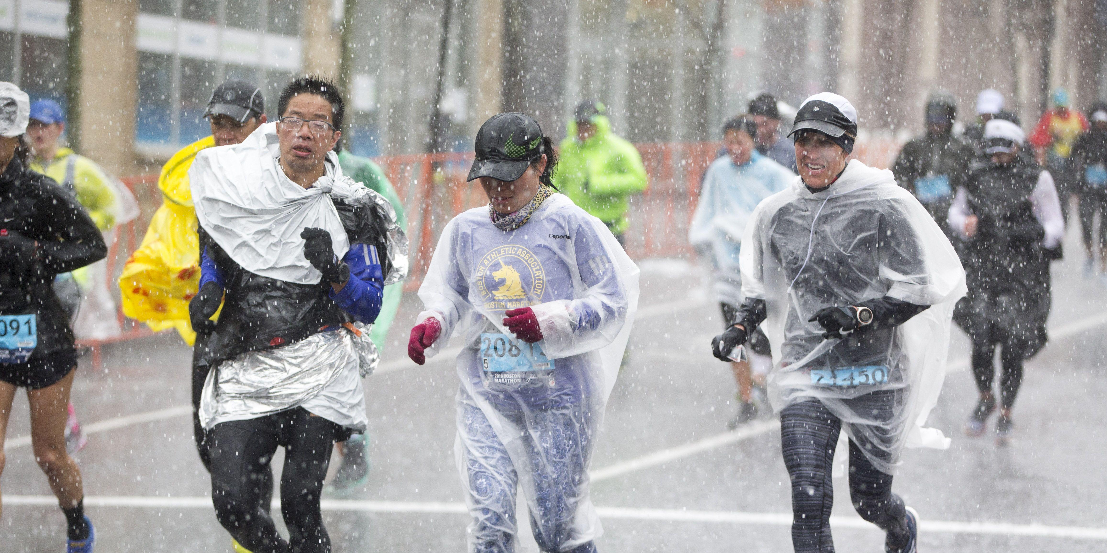 Runners Compete In The 2018 Boston Marathon
